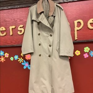 💐 Men's Burberry Tan Trench-coat